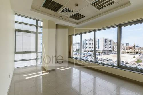 Fitted office w/ partitions, close to metro | Deira