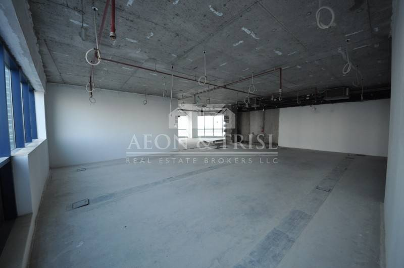 Excellent Office Shell n Core for Rent in tower in JLT- th-img4